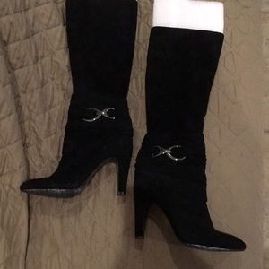 High Heel Tall Black Boots